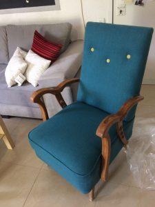 כורסא כחולה3
