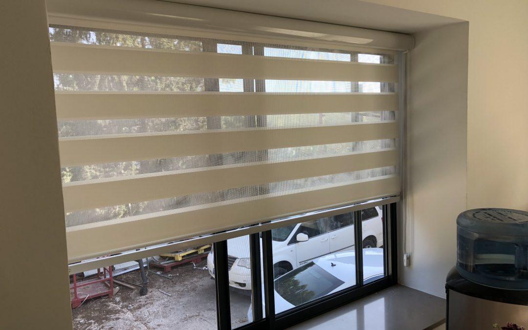 Kitchen Window Zebra Blinds