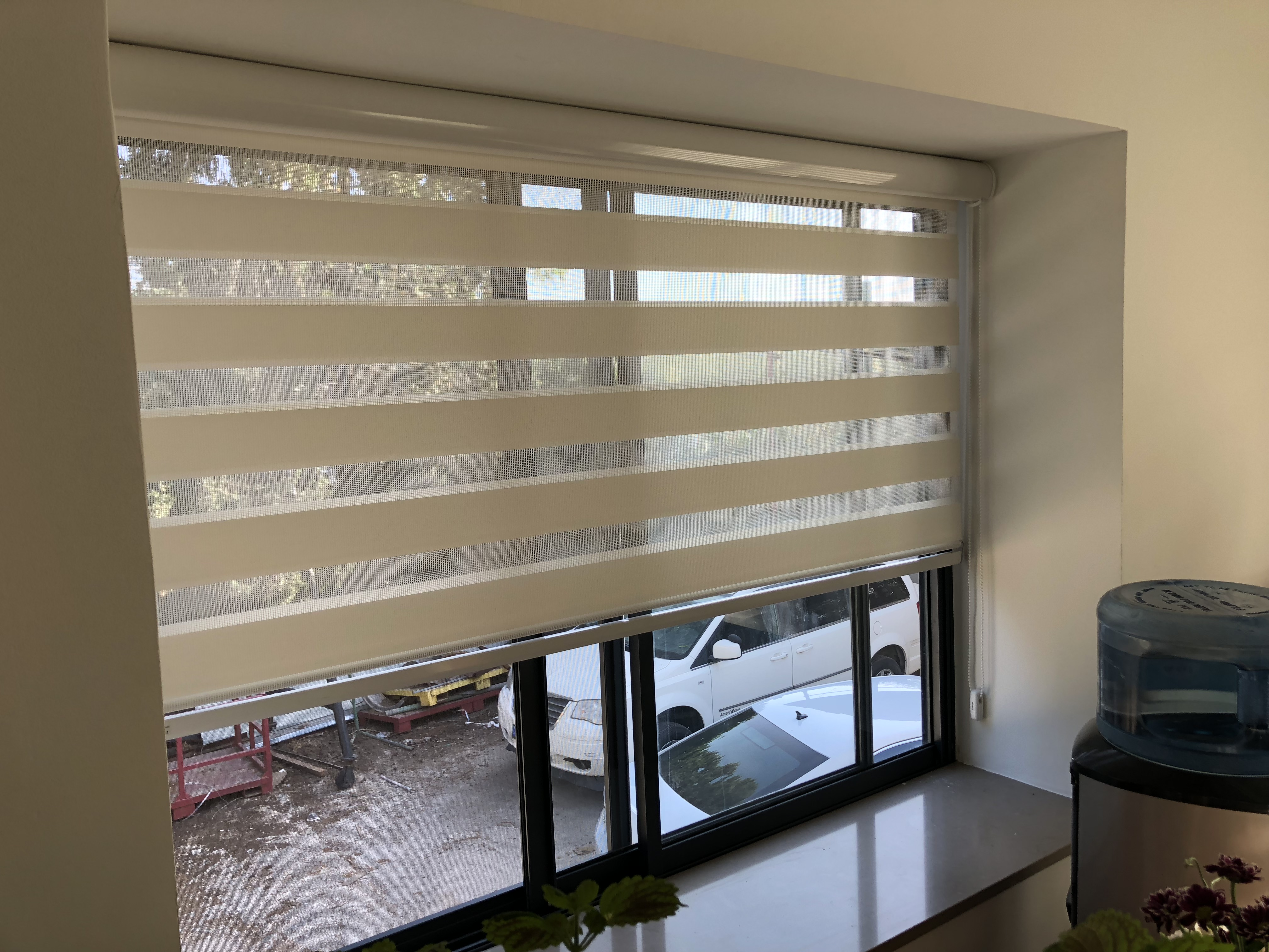 Kitchen Window Zebra Blinds